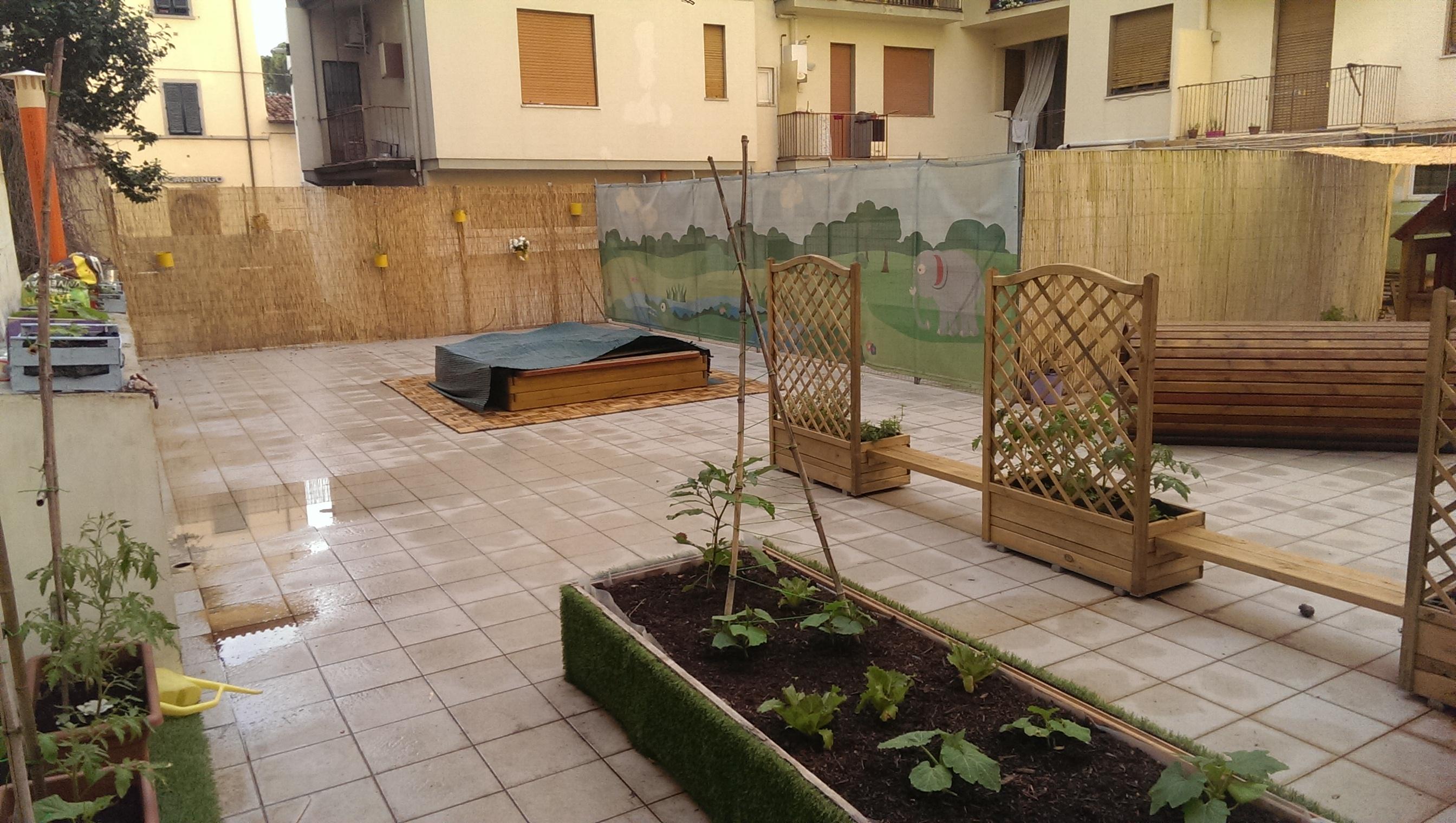 La nostra terrazza attrezzata è pronta!